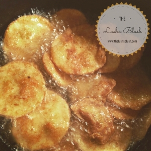 Fried Squash | The Lush's Blush blog
