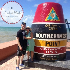 Honeymooners in Key West - The Lush's Blush blog