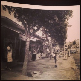 A street in Korea, circa 1965