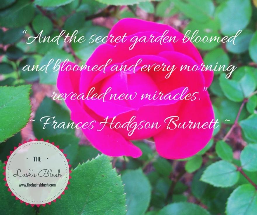 The Secret Garden   The Lush's Blush blog