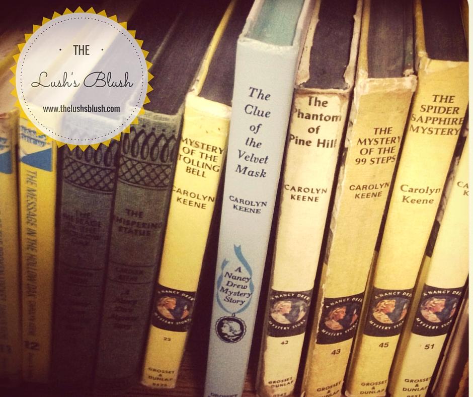 Nancy Drew books | The Lush's Blush blog