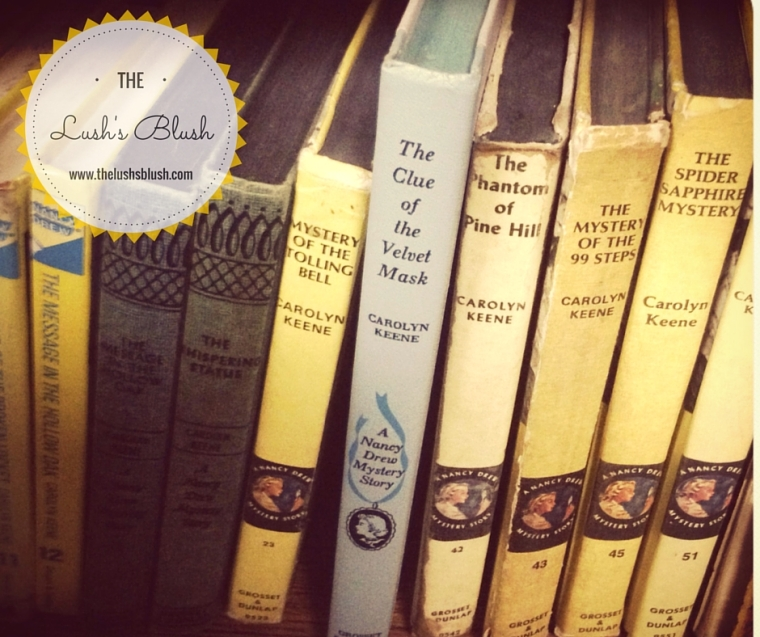 Nancy Drew books | The Lush's Blush blog
