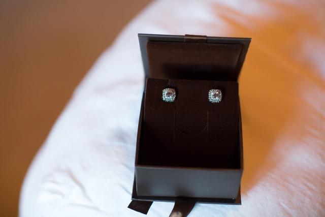 Bridal earrings | The Lush's Blush blog