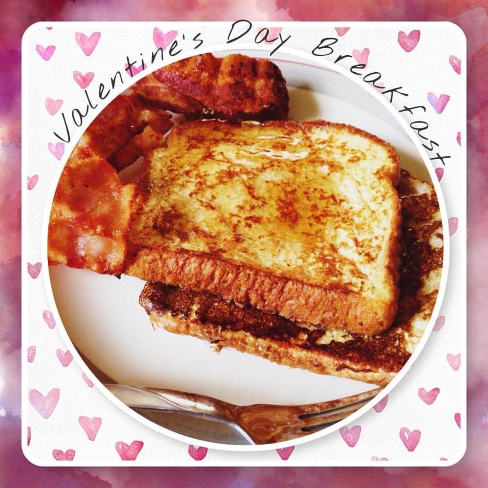 Valentine's Day french toast | The Lush's Blush blog