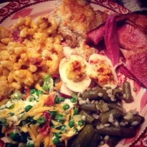 Easter Dinner | The Lush's Blush blog
