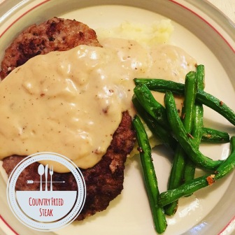 Country fried steak | The Lush's Blush blog